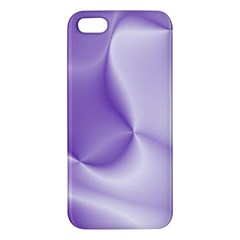 Colors In Motion, Lilac Apple iPhone 5 Premium Hardshell Case