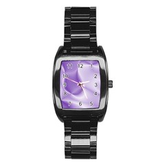 Colors In Motion, Lilac Stainless Steel Barrel Watch