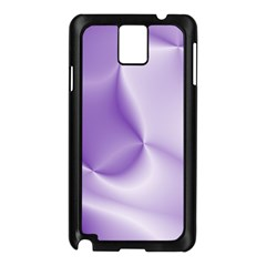 Colors In Motion, Lilac Samsung Galaxy Note 3 N9005 Case (black)