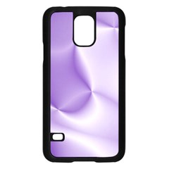 Colors In Motion, Lilac Samsung Galaxy S5 Case (Black)