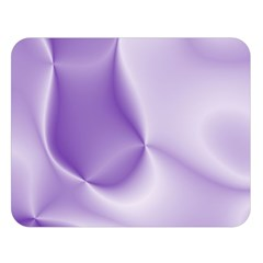 Colors In Motion, Lilac Double Sided Flano Blanket (Large)