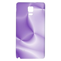 Colors In Motion, Lilac Galaxy Note 4 Back Case