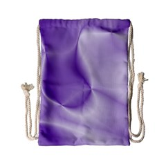 Colors In Motion, Lilac Drawstring Bag (small)