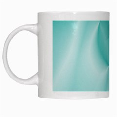 Colors In Motion,teal White Mugs