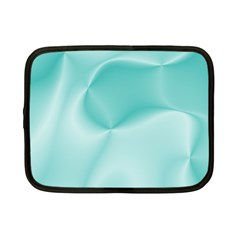 Colors In Motion,teal Netbook Case (Small)