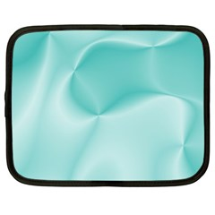 Colors In Motion,teal Netbook Case (XL)
