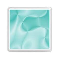 Colors In Motion,teal Memory Card Reader (square)