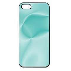 Colors In Motion,teal Apple iPhone 5 Seamless Case (Black)