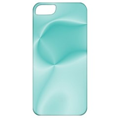 Colors In Motion,teal Apple iPhone 5 Classic Hardshell Case