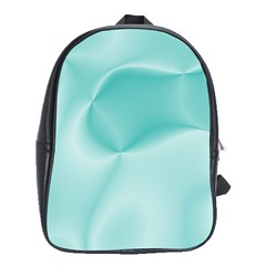 Colors In Motion,teal School Bags (XL)