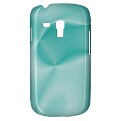 Colors In Motion,teal Samsung Galaxy S3 MINI I8190 Hardshell Case