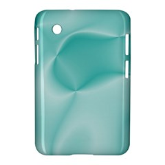 Colors In Motion,teal Samsung Galaxy Tab 2 (7 ) P3100 Hardshell Case