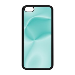 Colors In Motion,teal Apple iPhone 5C Seamless Case (Black)