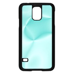 Colors In Motion,teal Samsung Galaxy S5 Case (Black)