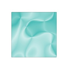 Colors In Motion,teal Satin Bandana Scarf