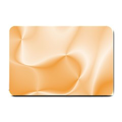 Colors In Motion,peach Small Doormat