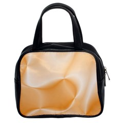 Colors In Motion,peach Classic Handbags (2 Sides)