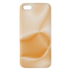 Colors In Motion,peach Apple iPhone 5 Premium Hardshell Case