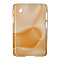Colors In Motion,peach Samsung Galaxy Tab 2 (7 ) P3100 Hardshell Case