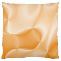 Colors In Motion,peach Large Flano Cushion Cases (Two Sides)