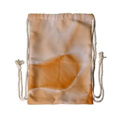 Colors In Motion,peach Drawstring Bag (Small)