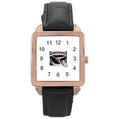 Collage Mousepad Rose Gold Watches