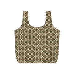Cute Pretty Elegant Pattern Full Print Recycle Bags (s)