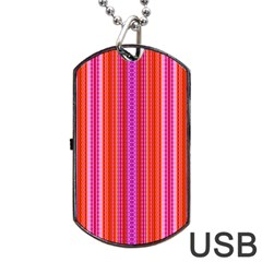 Pattern 1576 Dog Tag USB Flash (Two Sides)