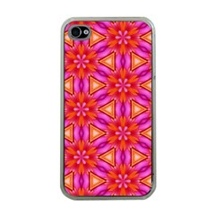 Cute Pretty Elegant Pattern Apple iPhone 4 Case (Clear)