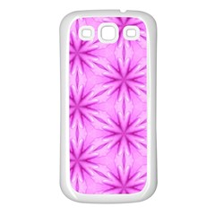 Cute Pretty Elegant Pattern Samsung Galaxy S3 Back Case (White)