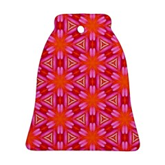 Cute Pretty Elegant Pattern Bell Ornament (2 Sides)