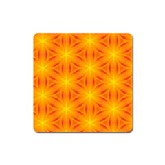 Cute Pretty Elegant Pattern Square Magnet