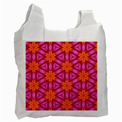 Cute Pretty Elegant Pattern Recycle Bag (One Side)