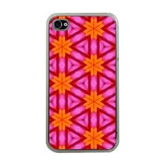 Cute Pretty Elegant Pattern Apple iPhone 4 Case (Clear)