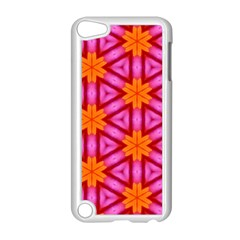 Cute Pretty Elegant Pattern Apple iPod Touch 5 Case (White)