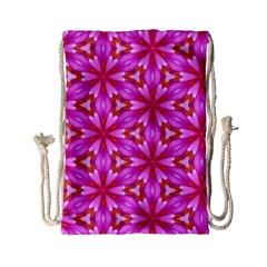 Cute Pretty Elegant Pattern Drawstring Bag (Small)