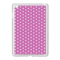 Cute Pretty Elegant Pattern Apple iPad Mini Case (White)