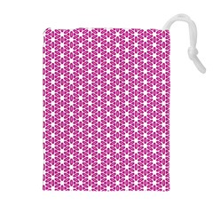 Cute Pretty Elegant Pattern Drawstring Pouches (Extra Large)