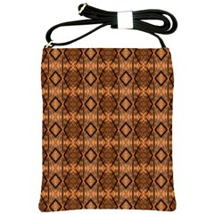 Faux Animal Print Pattern Shoulder Sling Bags