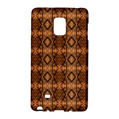 Faux Animal Print Pattern Galaxy Note Edge