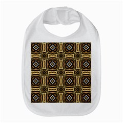 Faux Animal Print Pattern Bib