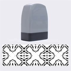 Faux Animal Print Pattern Name Stamps