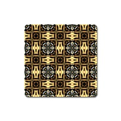 Faux Animal Print Pattern Square Magnet