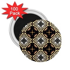 Faux Animal Print Pattern 2.25  Magnets (100 pack)