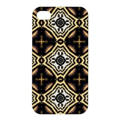 Faux Animal Print Pattern Apple iPhone 4/4S Hardshell Case