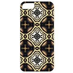 Faux Animal Print Pattern Apple iPhone 5 Classic Hardshell Case