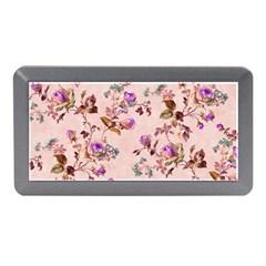 Antique Floral Pattern Memory Card Reader (Mini)