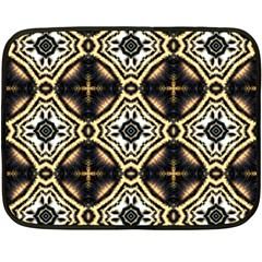 Faux Animal Print Pattern Double Sided Fleece Blanket (Mini)