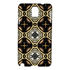 Faux Animal Print Pattern Samsung Galaxy Note 3 N9005 Hardshell Case