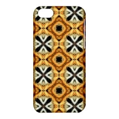 Faux Animal Print Pattern Apple iPhone 5C Hardshell Case